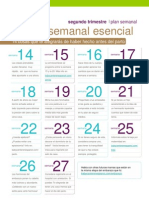 Plan Semanal BabyCenter