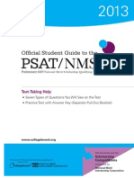 2013 Psat Nmsqt Student Guide