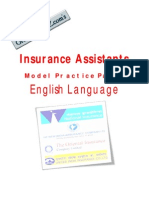 NICL English Model Paper - Gr8AmbitionZ