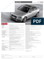 Ft Audi a4 170 Cv S-line