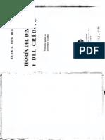 Ludwig von Mises Teoria Del Dinero Y Del Credito.pdf