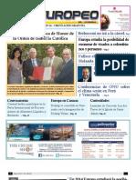 Periodico El Europeo Edición Digital Agosto