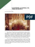 Card Ratzinger Misa Spi Ov