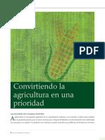 4 Convirtiendo La Agricultura en Una Prioridad