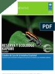 RESERVA Y ECOLODGE  KAPAWI (Ecuador) Estudios de Caso de la Iniciativa Ecuatorial