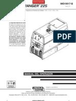 Manual en español soldador-generador ranger 225