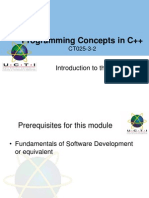 01 Introduction to Module