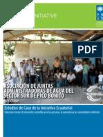 ASOCIACIÓN DE JUNTAS ADMINISTRADORAS DE AGUA DEL SECTOR SUR DE PICO BONITO (Honduras) Estudios de Caso de la Iniciativa Ecuatorial