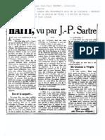Sartre-haiti Vu Par Jps