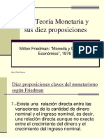 Friedman Proposiciones
