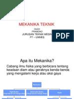 Bahan Ajar - Ptm117 Mekanika Teknik