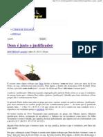 Deus é justo e justificador _ Portal da Teologia.pdf