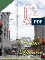 Destine Literare August 2013