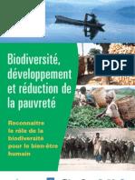 Biodiversité, développement et réduction de la pauvreté