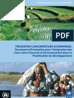 PNUD-PNUE Initiative Pauvreté-Environnement