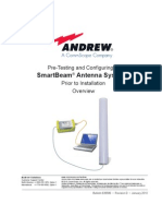 Pre-Testing and Configuring of SmartBeam Antenna Systems Prior to Installation Overview