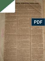 Decreto de fundación del Gobierno Litoral del Callao y Bellavista