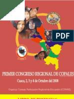 Libro de Ponencias Del Primer Congreso de COPALES