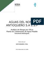 Analisis Riesgo Oficio AGUAS DEL NORTE Yarumal