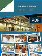 Informe de Gestion 2008-2012