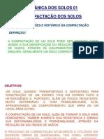 MECÂNICA DOS SOLOS 01 - aula 05 - Compactação