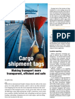 Cargo shipment tags