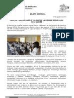 18/08/13 Germán Tenorio Vasconcelos Hospita Dr. Aurelio Valdivieso, 48 años de servir a los oaxaqueños