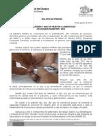 20/08/13 Germán Tenorio Vasconcelos SEDENTARISMO Y MALOS HÁBITOS ALIMENTICIOS OCASIONAN DIABETES