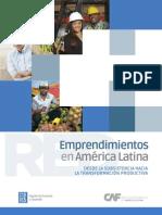 Emprendimientos en América  Latina