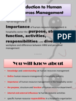 1.Introduction to Human Resources Management