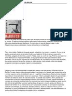 Manifiesto Partido Indio de Bolivia