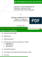 NIGERIA_Continental Strategy for Data Collection and Live Databases
