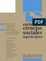 Revista de Ciencias Sociales Nº 23