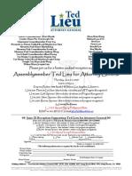 Ted Lieu June 25 Event