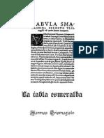 La Tabla Esmeralda - Hermes Trismegisto