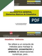 Elementos Basicos de Estadistica WA