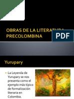 Obras de La Literatura Precolombina