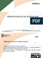 02 Principios básicos del Interfaz MIDI