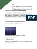 Que es la energía eolica