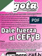 """La Gota"" - Agosto 2013"