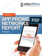 App Promotion Networks Report