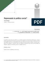 02 - REPENSANDO LA POLÍTICA SOCIAL