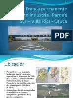 ZF-Parque Sur - Villa Rica - Cauca
