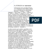 ASAMBLEA LITÚRGICA en MARTIMORT