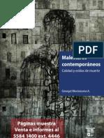 Libro Malestares contemporáneos (páginas muestra)