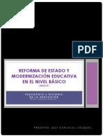 .Reforma Del Estado y Modernizacion Educativa