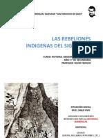 13 Rebeliones Indigenas Historia
