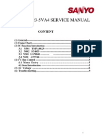 Chassis Sanyo Con UOC TMPA8823-5VA4 Manual de Servicio