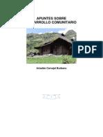Apuntes Sobre Desarrollo Comunitario