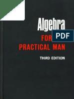 88264564 Algebra for the Practical Man Thmpsn 1962